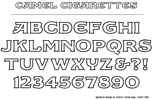 ray cruz � typeface design � commissioned fonts